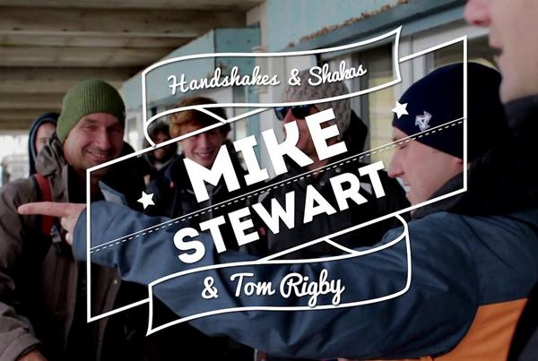 Mike Stewart UK visit