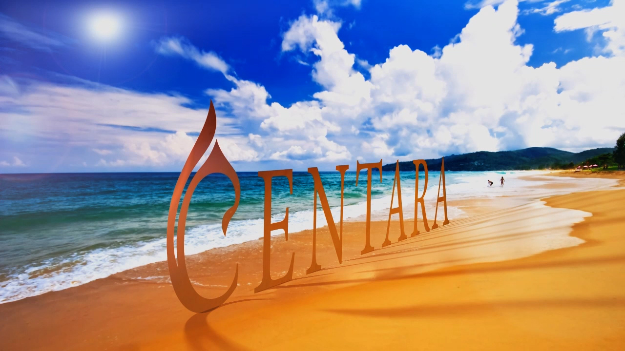 Centara beach graphic