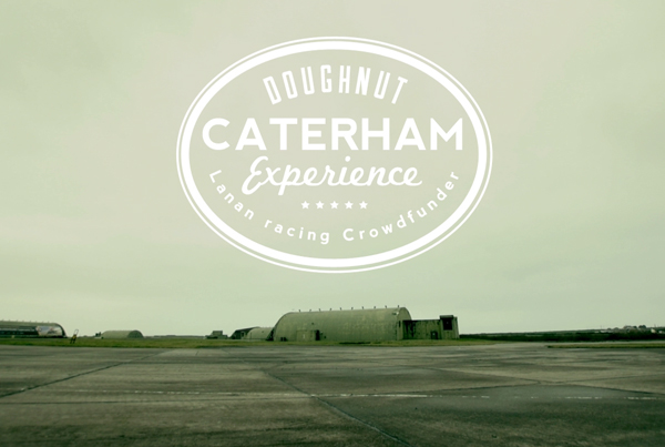 Caterham experience crowdfunder reward